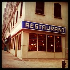 "Tom's restaurant, upper west side. #NYC...In elementary school I""d go twice a week after school!"