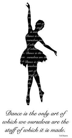 Dance Quote Illustration  Printable Download by Musiety on Etsy, $2.99