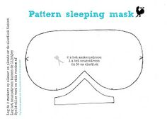 Eye mask invitation template google search maddy party ideas van ons thuis free pattern sleeping mask also for kids pronofoot35fo Images