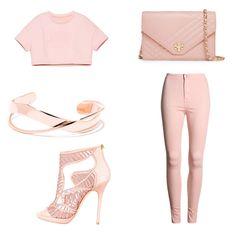 """""""Untitled #287"""" by deedee-07-love on Polyvore featuring Jimmy Choo and Tory Burch"""