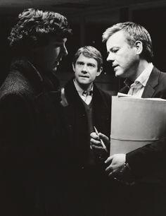 Sherlock, John and Greg