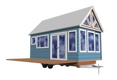 Pop-up House: Expanding transportable cabin