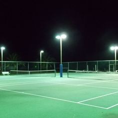 Double tennis court lighting on key colony beach in the florida keys access fixtures offers commercial lighting pulse start metal halide high pressure sodium t5 aloadofball Images