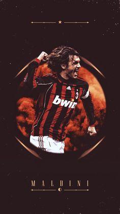 Paolo Maldini Legends Football, Football Soccer, Football Players, Mac Club, Milan Wallpaper, Roberto Baggio, Paolo Maldini, Funny Caricatures, Chelsea