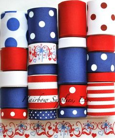 Fireworks Scrolls Ribbon Wholesale Lot 20 yards by HairbowSuppliesEtc