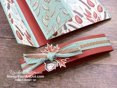 Click here to see a \'flap fold\' card I made with products from the Gilded Autumn Suite in the Aug-Dec 2020 Mini Catalog: Beautiful Autumn Stamp Set, Autumn Punch Pack, Gilded Autumn Designer Paper, and Basketweave Hand Made Greeting Cards, Greeting Cards Handmade, Fun Fold Cards, Folded Cards, Online Paper, Fall Cards, Close Up Photos, Stamping Up, Pattern Paper