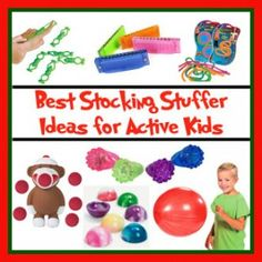 Some of the BEST stocking stuffer ideas for kids with ADHD or special needs, such as autism
