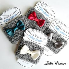 Coffee Sleeve Coffee Gifts Valentine Gifts by ModernStyleHoliday
