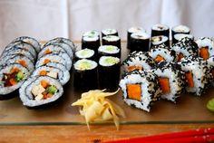 Jak zrobić wegańskie sushi? - Vege z Miłością