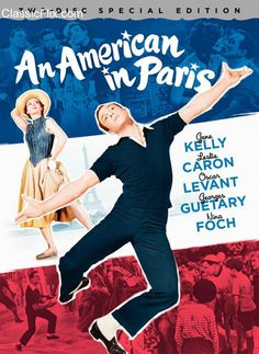 an american in paris... obviously didn't come out when I was young, but I love old movies and musicals.