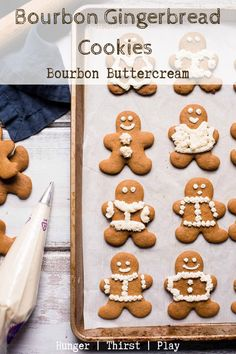 Bourbon Gingerbread