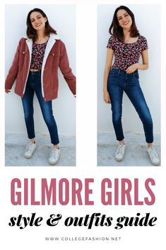 As part of my fall ritual, I've been rewatching one of my favorite shows. This week, I'm getting style inspiration from Gilmore Girls. #gilmoregirls #rorygilmore #lorelaigilmore #tvfashion #tvstyle Fashion Tv, Girl Fashion, Gilmore Girls Characters, Gilmore Girls Fashion, Lauren Graham, Rory Gilmore, Corduroy Jacket, Millie Bobby Brown, College Fashion