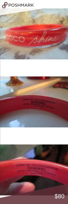 Chanel Bracelet 💯 Authentic Chanel Acrylic Bracelet New never used Jewelry Bracelets