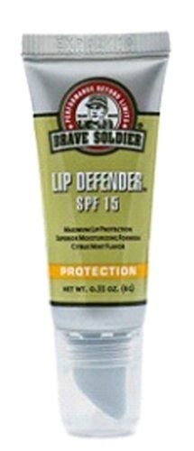 Cycling Personal Care Products - Brave Soldier Defender Citrus Mint Lip Balm 28Ounce *** You can get additional details at the image link.