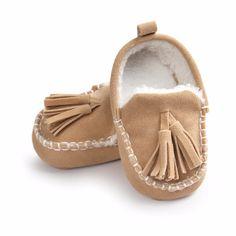 Симпатичные Новорожденных Кисточкой Дизайн Детская Обувь Теплая Зима Мягкой Подошвой Хлопок Baby Boy Обувь 2016 Новое Прибытие Детские Первые Ходоки #CLICK! #clothing, #shoes, #jewelry, #women, #men, #hats