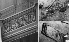 Titanic Debris Field | Balustrade sections