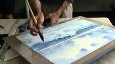 Part II is wonderful demo for painting breaking waves.  Sergey Temerev Master-class in Vilnius. Part II