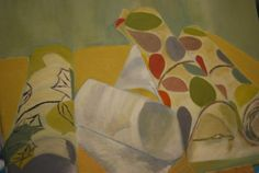 Abstract and still life at Faux Arts studio in Pewsey