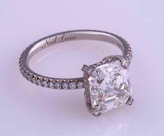 Zooey Dechannel Engagement Ring. IN LOVE