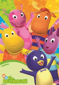 Backyardigans Party Lootbags Fast Shipping 8 per package