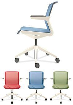 Allsteel Clarity - Allsteel+BMW Group Designworks collaboration- return to center lounge chair Chair Design, Furniture Design, Office Furniture, Office Chairs, Furniture Movers, Lounge Chairs, Dining Chairs, Cool Office Desk, Open Office