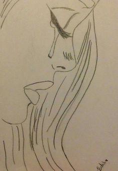 Sad drawings, easy drawings sketches, cute drawings of people, easy love drawings, Sad Sketches, Easy Drawings Sketches, Sad Drawings, Cool Art Drawings, Drawing Ideas, Drawing Projects, Girl Drawing Sketches, Tumblr Drawings, Art Projects