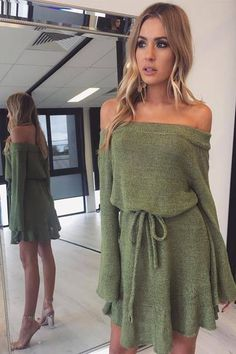 1d6f9208d0631d Long Sleeve Sweater Dress