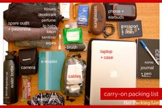 30 Days to Packing a Better Bag – Day 25: The Perfect Carry-on (Packing List)