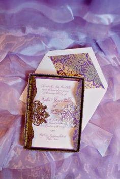 layered #purple organza linens - WFL Juliet Lavender