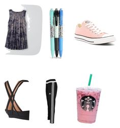 """Wishing for summer but still in school"" by funkyballerina on Polyvore featuring adidas, American Eagle Outfitters, Vera Bradley and Converse"