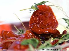 Como fazer tomate seco - passo a passo e ingredientes necessários #cursoscpt