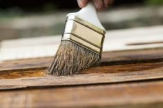A well-maintained stain brush can last for years.