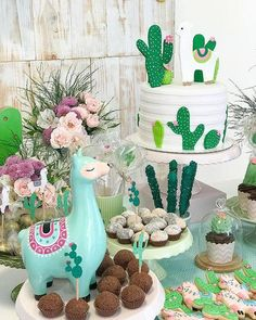 Baby Shower Ideas Decoracion Cactus Ideas - Llama party - Baby Shower Ideas Decoracion Cactus Ideas The Effective Pictures We Offer You About cactus draw - Llama Birthday, Baby Birthday, Mexican Birthday, Fiestas Party, Girl Birthday Themes, Party Decoration, 1st Birthdays, Baby Shower Themes, Shower Ideas