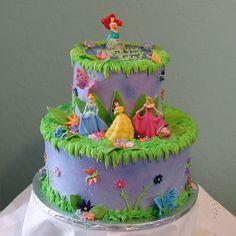 Disney Princess Cake — Birthday Cake Photos