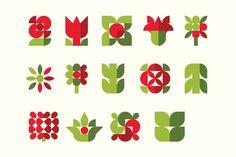 Оформление цветочного магазина Мосцветторг в красных тонах: яркость и гармония