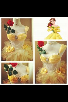 Disney princess costume by Electric Laundry. Epic company