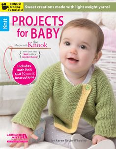 Projects for Baby Made with the Knook eBook - Leisure Arts