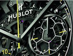 Hublot Classic Fusion Pele Watch Chrono Detail