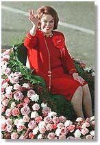 Grand Marshall Shirley temple Black~1999 Rose Parade..