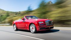 """The British carmaker describes the Rolls-Royce Dawn as the """"sexiest Rolls-Royce…"""