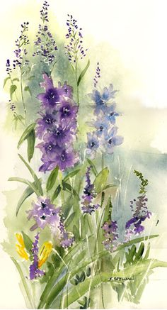 Kathleen Spellman   WATERCOLOR