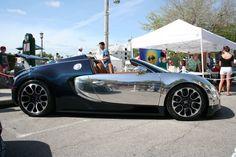 Bugatti Veyron. Number one on my dream cars list.