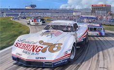 Corvette Greenwood par RogerWarrick sur Etsy