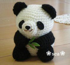 パンダのあみぐるみの画像 - Handmadeブログ *sea*のあみぐるみ日記 - Yahoo!ブログ