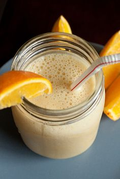 Easy Orange Julius knockoff. Tested: http://pintester.com/2012/04/orange-julius-smoothie/