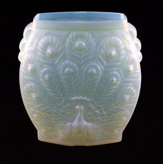 Etling Opalescent Glass Vase