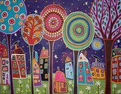 schilderijen van karla gerard - Google zoeken