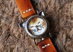metaletlinnenの腕時計 cute Cat NekoNeko