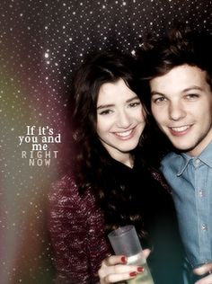 Louis Tomlinson and Eleanor Calder! Cutest couple ever! Other than Payzer, and Zerrie! One Direction Girlfriends, One Direction Music, The Girlfriends, Liam James, James Horan, Louis And Eleanor, All We Know, Cutest Couple Ever, Eleanor Calder