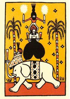 Image - De ma collection de cartes postales rééditions de cartes de l'époque du Wiener Werkstätte - Le skyblog arty d'une bipolaire assumée - Skyrock.com